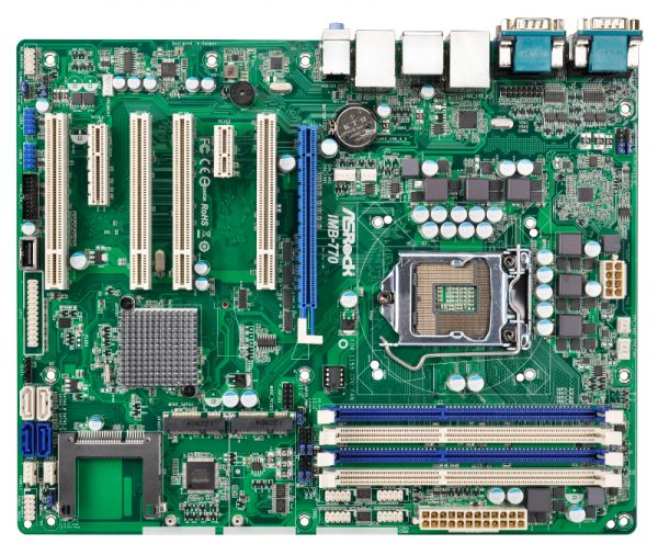 ATX Industrial Motherboard with Intel Q77 Express Chipset for 3rd Generation Intel Core i3/i5/i7 Desktop Processors