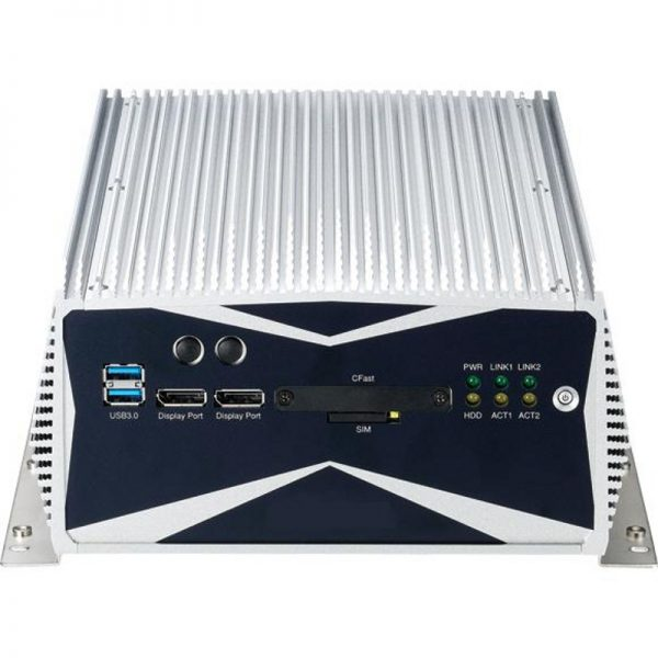 NISE-3600 - Fanless Embedded system with Intel QM77 chipset supporting 2nd and 3rd generation Intel Core i3 / Core i5 Mobile processors and choice of expansion options