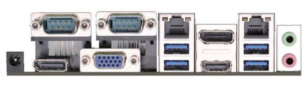 IMB-182 - Mini-ITX Industrial Motherboard with Intel QM87 Chipset for 4th Generation Intel Core i3/i5/i7 Socket FCBGA1364 Mobile Processors