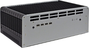 Fanless Embedded System for industrial applications with Intel QM77 Express chipset supporting 2nd and 3rd Generation Intel Core i3/i5/i7 mobile processors