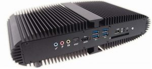 Fanless Industrial Mini System with Mobile Intel QM77 Express Chipset supporting 3rd Generation Core i3 / i5 / i7 Mobile Processors