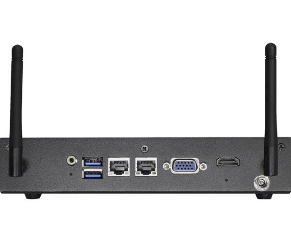 iBOX-210 - Fanless Embedded Box PC with with Intel Baytrail-M Celeron J1900 or N2930 SoC processor