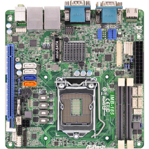 IMB-185 - Mini-ITX Industrial Motherboard with Intel H81 Chipset for 4th Generation Intel Core i3/i5/i7 Desktop Processors