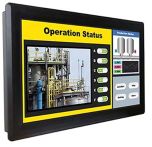"""21.5"""" Widescreen Fanless Industrial Touch Panel PC"""