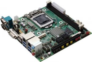 LV-67S-G - Mini-ITX Industrial Motherboard with Intel C236 Chipset supporting Intel 6th Generation Core i3/i5/i7 S-Series and Intel Xeon E-1200 v5 series Desktop Processors