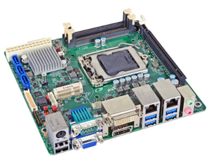 SD100-Q170 - Mini-ITX Embedded Motherboard with Intel Q170 Chipset for 6th Generation Intel Core i3/i5/i7 Desktop Processors