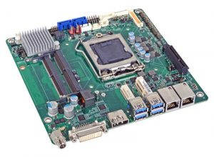 SD101/SD103-H110 - Mini-ITX Embedded Motherboard with Intel H110 Chipset for 6th Generation Intel Core i3/i5/i7 Desktop Processors (DC Input)