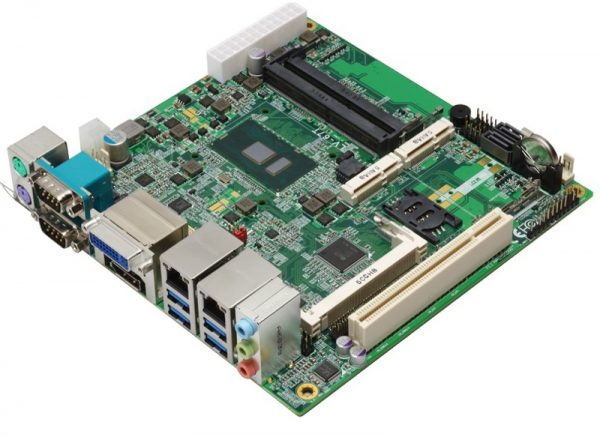 LV-67T-G - Mini-ITX Embedded Motherboard with Intel Skylake (6th Gen) Core U-series Processor