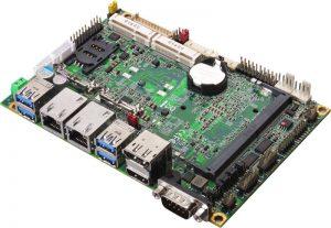 "LE-37G - 3.5"" Embedded Mini-Board with Intel Skylake (6th Gen) Core U-series Processor"