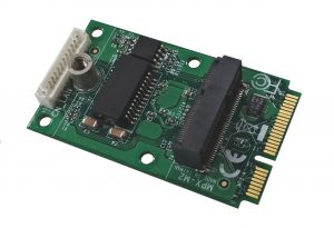 Commell MPX-M2EG M.2 (NGFF) to Mini-PCIe adapter with Gigabit Ethernet-0