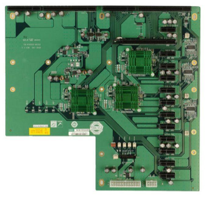 1108200 - 14-SLOT (12 x PCIe x1, 1 x PCIe x16, 1 x PICMG) PICMG 1.3 Passive Backplane