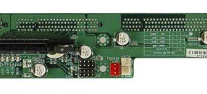 1108250 - 2-SLOT 1U (1 x PCIe x16, 1 x PICMG) PICMG 1.3 Passive Butterfly Backplane