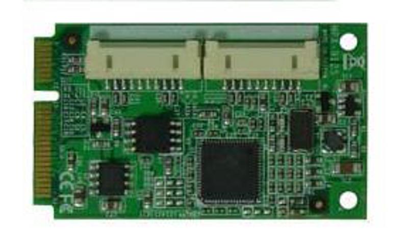 Commell MPX-9125 PCI Express mini card (mini-PCIe) Serial ATA 6.0Gbps AHCI & RAID Controller Card