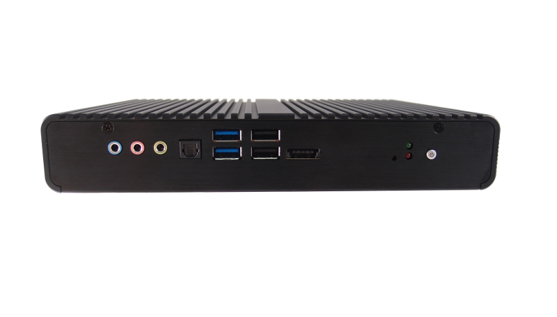 BluStar FS-8135 - Compact Size Fanless Box PC with the Intel QM77 Express Chipset and 3rd Generation Core i7-3517UE Processor