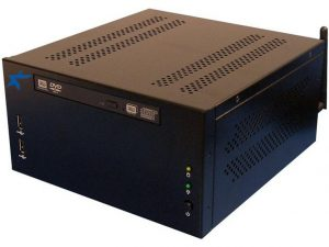 BluStar DS-7701 - Wallmount / Deskmount 2nd Generation Intel Core i3/i5/i7 Configurable Embedded Mini-ITX System