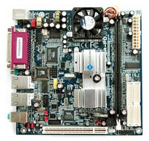 1EPIPD1 EPIA PD Mini-ITx Motherboard 1 GHz, C3 / Eden EBGA processor-19203