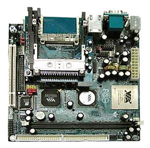 1EPMII1 EPIA MII Mini-ITX motherboard 1 GHz, C3 / Eden EBGA processor-19207