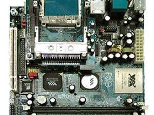 1EPIA10 EPIA M Mini-ITX motherboard 1 GHz, C3 / Eden EBGA processor-19219