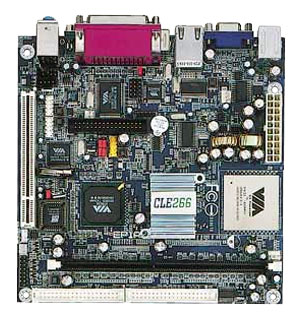 1EPME60 EPIA M Mini-ITX motherboard 600 MHz, C3 / Eden EBGA processor-19211