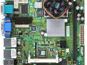 KINO-LX-800-R10 Mini-ITX Motherboard with Embedded AMD Geode LX800 500 MHz Processor-0