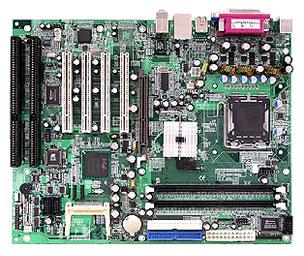 MB865V Industrial ATX Motherboard with LGA 775 for Intel Pentium 4 / Celeron D series processors-19259