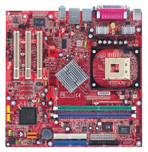 865GVM2-LS / MS-7037-020 Micro-ATX Skt 478 Pentium 4 CPU Motherboard-19293