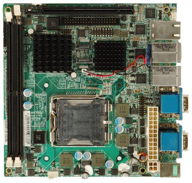 KINO-9654G4 Mini ITX Motherboard with LGA 775 (Socket T) for Intel Core 2 Extreme Processor-0