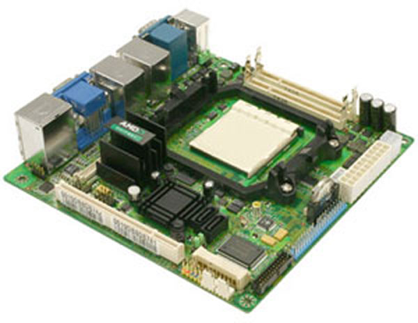 MS-9804-010 Mini-ITX Motherboard with Socket AM2 for AMD Athlon 64 X2 / Athlon 64 / Sempron series processors-0