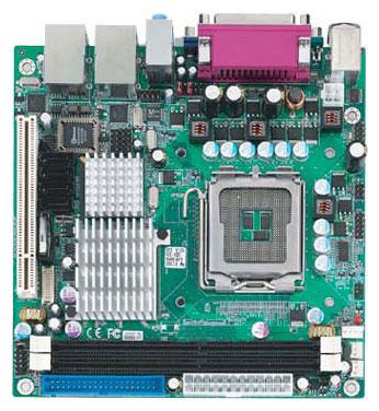 HS-1747 Mini-ITX Motherboard with LGA 775 for Intel Pentium 4 / Celeron D series processors-0