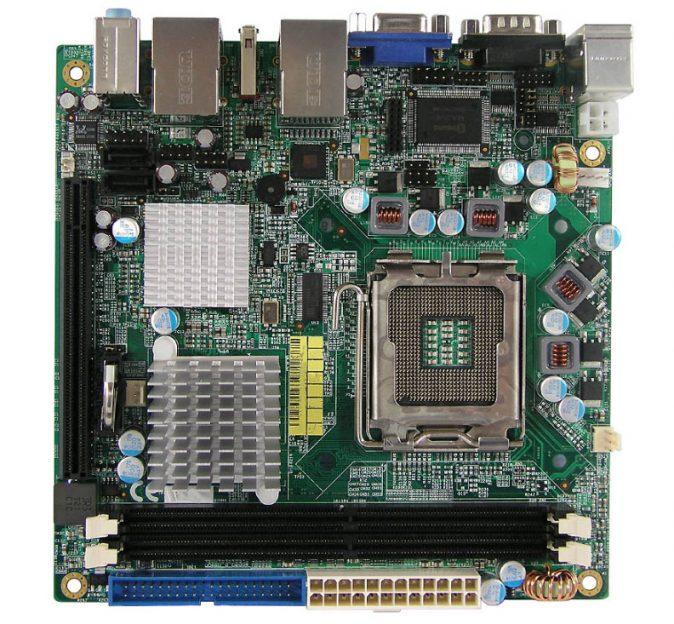 MI935 Mini-ITX Motherboard with Socket LGA 775 for Intel Core 2 Duo / Core 2 Quad / Celeron 400 series processors-0