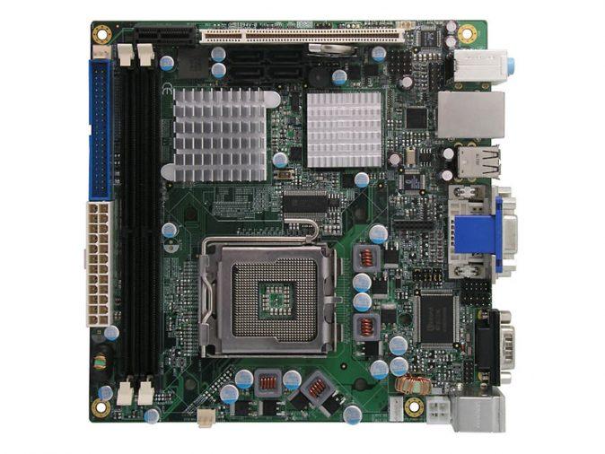MI940 Mini-ITX Motherboard with LGA 775 for Intel Core 2 Duo / Pentium D / Pentium 4 series processors-0
