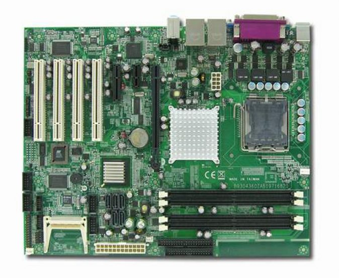 RUBY-9716VGAR ATX Industrial Motherboard with Socket LGA 775 for Intel Core 2 Duo / Pentium D / Pentium 4 series processors