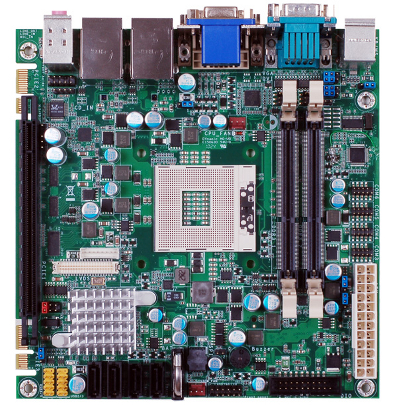 ITOX HR100-CRMT Mini-ITX Motherboard with Mobile Intel QM67 Chipset for 2nd Generation Intel Core i3 / i5 / i7 Mobile Processors