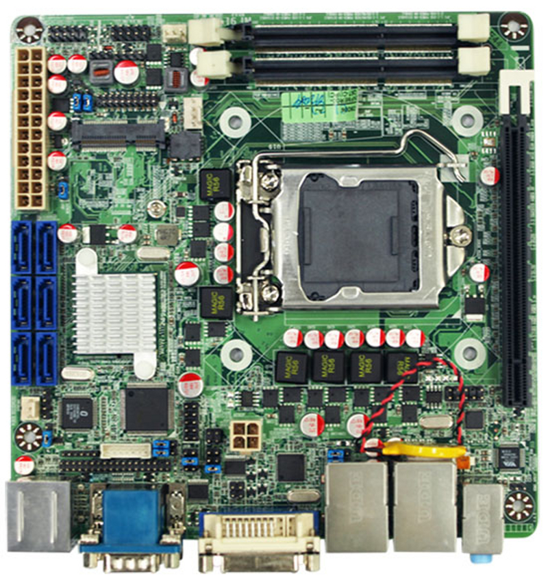 NF9E-Q77 - Mini-ITX Motherboard with Intel Q77 Express Chipset for 3rd Generation Intel Core i3/i5/i7 Desktop Processors