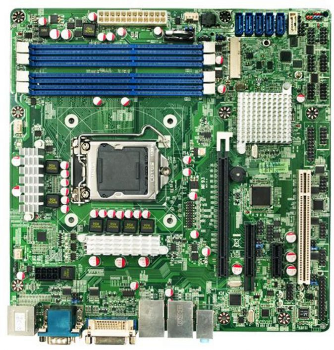 NMF93-Q77 - Micro-ATX Motherboard with Intel Q77 Express Chipset for 3rd Generation Intel Core i3/i5/i7 Desktop Processors