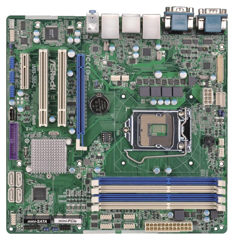IMB-380 - Micro-ATX Industrial Motherboard with Intel Q87 Chipset for 4th Generation Intel Core i3/i5/i7 Desktop Processors