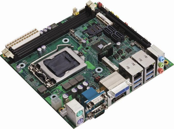 Industrial Mini-ITX Motherboard with Intel Q87 Chipset supporting 4th Generation Intel Core i3/i5/i7 Desktop Processors