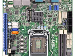 IMB-185 - Mini-ITX Industrial Motherboard with Intel H81 Chipset for 4th Generation Intel Core i3/i5/i7 Desktop Processors
