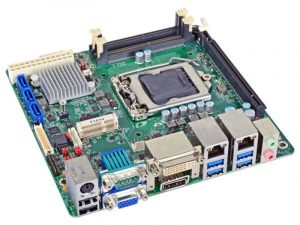 SD100-H110 - Mini-ITX Embedded Motherboard with Intel H110 Chipset for 6th Generation Intel Core i3/i5/i7 Desktop Processors