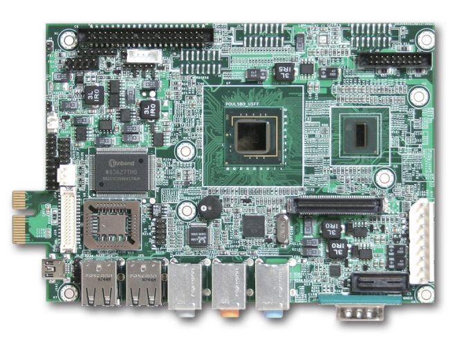 """PEB-2736 3.5"""" Embedded Controller with the Intel Atom Z510 processor-0"""