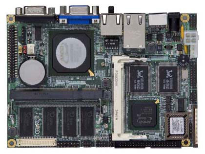 "Commell LE-363 3.5"" Embedded Controller with Embedded AMD Geode GX533 400 MHz Processor-0"