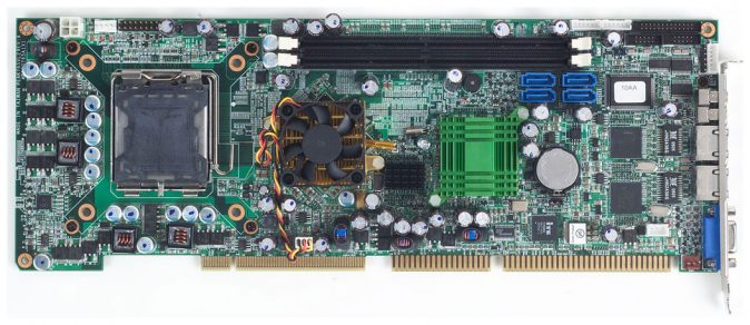 PEAK-765VL2 Full Size PICMG 1 SBC with Socket LGA 775 for Intel Core 2 Duo, Pentium D, Celeron D, Pe -0