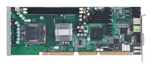 SBC81203 Full Size PICMG 1 SBC with Socket LGA 775 for Intel Core 2 Duo / Pentium D / Celeron D / -0