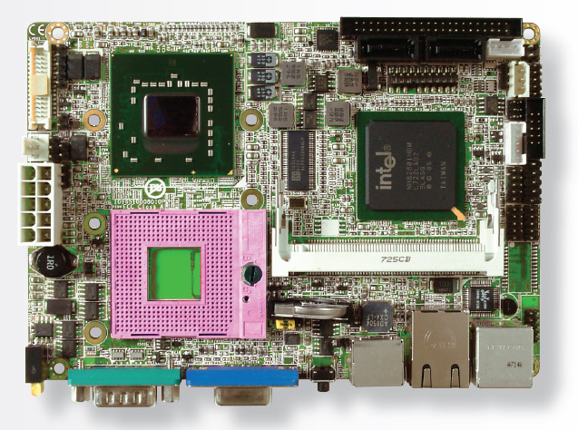 "3308170 3.5"" Embedded Controller with Socket P for Intel Core 2 Duo Processor-0"