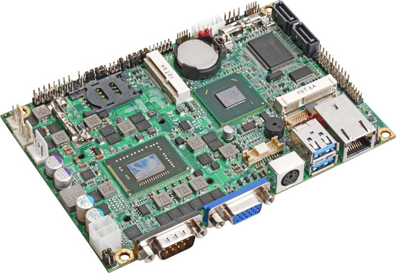"""3.5"""" Embedded Mini Board with Intel HM65 Express Chipset with choice of Intel Celeron 807UE, 827E or 847E processor"""