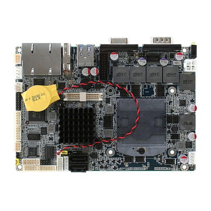 """ECM-QM77 - 3.5"""" Embedded Controller with Intel QM77 Express Chipset for 3rd Generation Intel Core i3/i5/i7 Mobile Processors"""