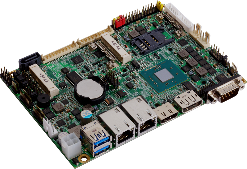 "LE-37D-G - 3.5"" Industrial Mini Board supporting the Intel Celeron J1900, Intel Celeron N2930 and Intel Atom E3845 SoC Processors"