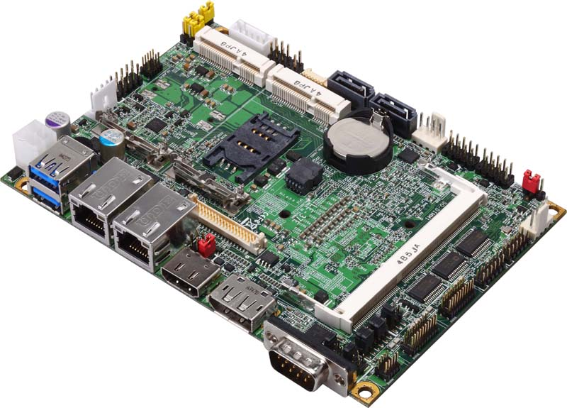 """LE-37E - 3.5"""" Embedded Mini Board with choice of Intel Core i7-5650U, i5-5350U or i3-5010U processor"""