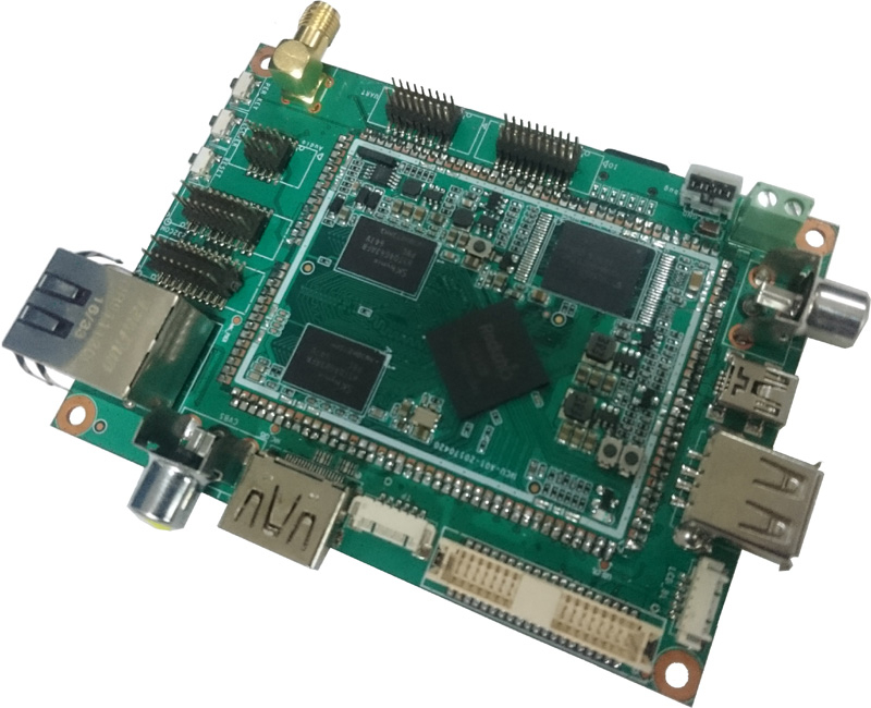 Commell LP-150 - Pico-ITX motherboard with Rockchip RK3128 Quad-core Cortex-A7-0