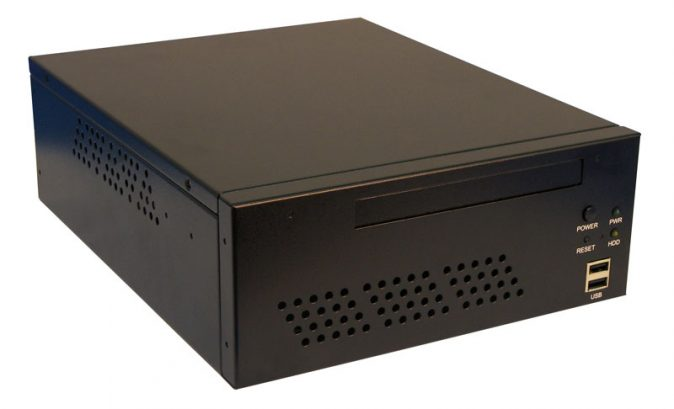 BluStar MS-7702 - Wallmount / Deskmount 3rd Generation Intel Core i5 Complete Mini-ITX Solution